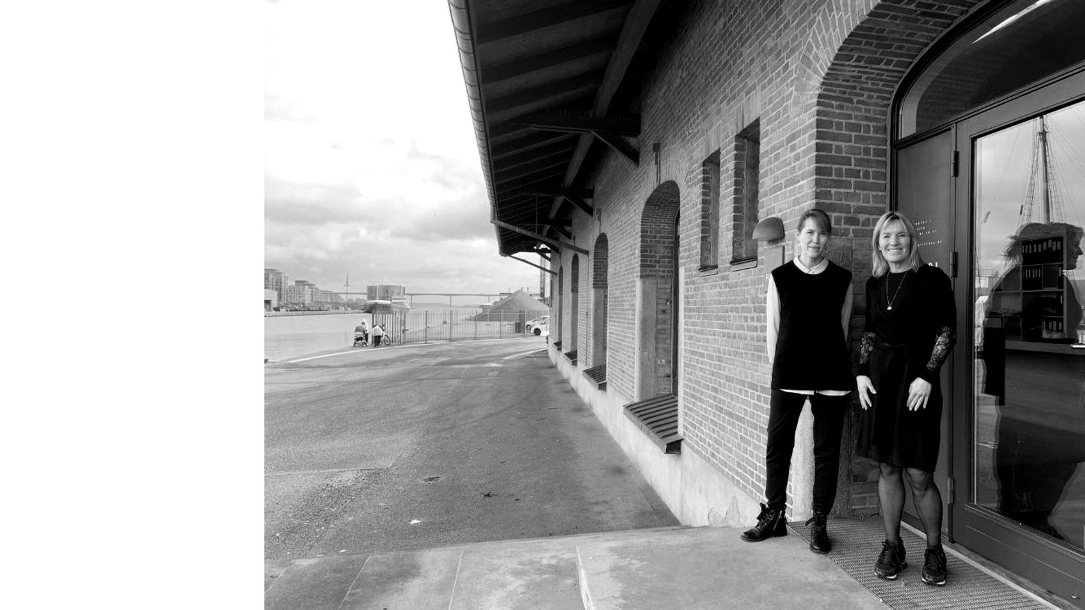 Lene Espersen fra Danske Ark besøger RAVN Arkitektur